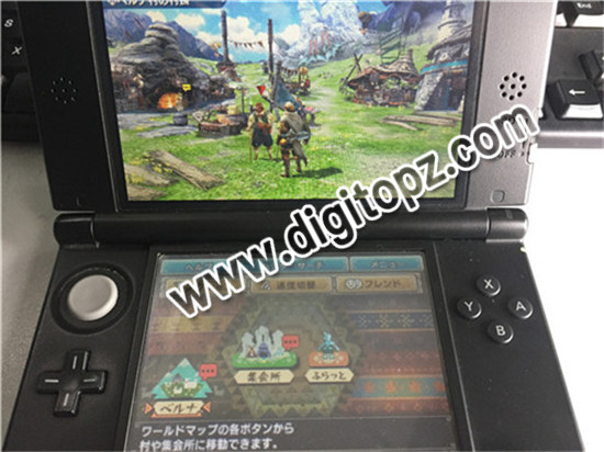 Monster Hunter XX (Double Cross) sky3ds+ 04